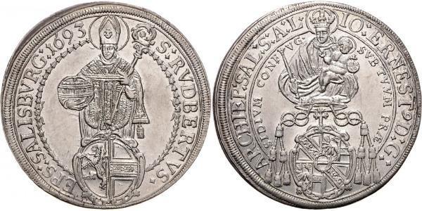 1 Thaler Österreich Silber