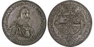 1 Thaler Augsburg (1276 - 1803) Silber Gustav II. Adolf (Schweden)(1594 – 1632)