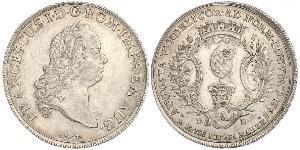 1 Thaler Augsburg (1276 - 1803) Silber Franz I. Stephan (HRR)(1708-1765)