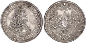1 Thaler Augsburg (1276 - 1803) Silber Ferdinand III, Holy Roman Emperor (1608-1657)