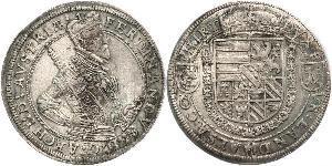 1 Thaler Elsass Silber Ferdinand II. (Tirol) (1529 – 1595)