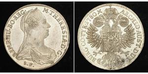 1 Thaler Habsburgermonarchie (1526-1804) Silber Maria Theresa of Austria (1717 - 1780)