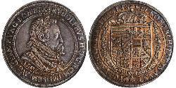 1 Thaler Heiliges Römisches Reich (962-1806) Silber Rudolf II. (HRR) (1552 - 1612)