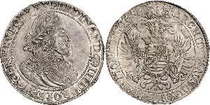 1 Thaler Heiliges Römisches Reich (962-1806) Silber Ferdinand III, Holy Roman Emperor (1608-1657)
