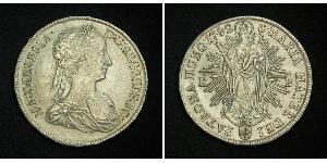 1 Thaler Heiliges Römisches Reich (962-1806) Silber Maria Theresa of Austria (1717 - 1780)