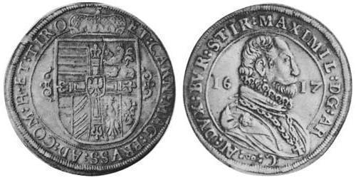 1 Thaler Heiliges Römisches Reich (962-1806) Silber