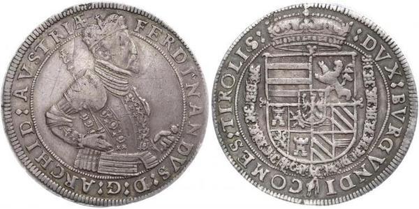 1 Thaler Heiliges Römisches Reich (962-1806) Silber Ferdinand II. (HRR)(1578 -1637)