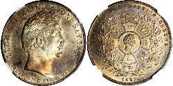 1 Thaler Königreich Bayern (1806 - 1918) Silber Ludwig I. (Bayern)(1786 – 1868)