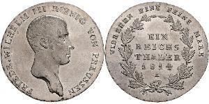 1 Thaler Königreich Preußen (1701-1918) Silber Friedrich Wilhelm III (1770 -1840)