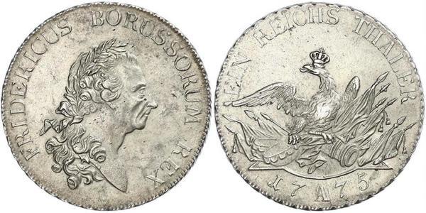 1 Thaler Königreich Preußen (1701-1918) Silber Friedrich II. (Preußen) (1712 – 1786)