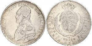 1 Thaler Königreich Sachsen (1806 - 1918) Silber Friedrich August I. (Sachsen)