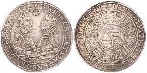 1 Thaler Königreich Sachsen (1806 - 1918) Silber