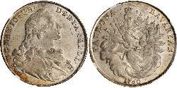 1 Thaler Kurfürstentum Bayern (1623 - 1806) Silber Maximilian III. Joseph (Bayern)(1727 – 1777)