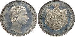 1 Thaler Liechtenstein Silber Johann II, Prince of Liechtenstein (1840-1929)