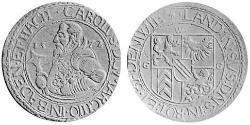 1 Thaler Markgrafschaft Baden-Durlach (1535 - 1771) Silber