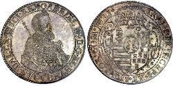 1 Thaler Principality of Transylvania (1571-1711) Silber