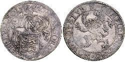 1 Thaler Republik der Sieben Vereinigten Provinzen (1581 - 1795) Silber
