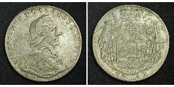 1 Thaler Salzburg Silber Hieronymus von Colloredo (1732 - 1812)