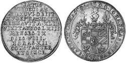 1 Thaler Anhalt-Dessau (1603 -1863) / Duchy of Anhalt (1806 - 1918) Silver John Casimir, Prince of Anhalt-Dessau (1596 – 1660)