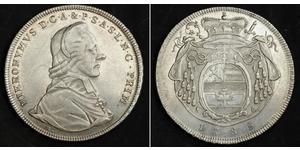 1 Thaler Austria  / Salzburg Silver Count Hieronymus von Colloredo (1732 - 1812)
