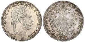 1 Thaler Austrian Empire (1804-1867) Silver Franz Joseph I (1830 - 1916)
