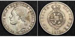 1 Thaler Duchy of Mecklenburg-Schwerin (1352-1918) Silver Frederick William, Grand Duke of Mecklenburg-Strelitz
