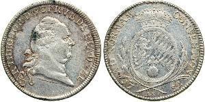 1 Thaler Electorate of Bavaria (1623 - 1806) Silver