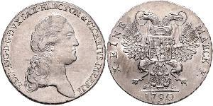 1 Thaler Electorate of Saxony (1356 - 1806) Silver Frederick Augustus I of Saxony