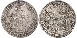 1 Thaler Electorate of Saxony (1356 - 1806) Silver