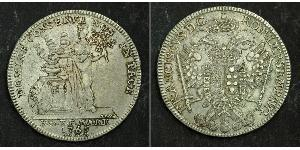 1 Thaler Free Imperial City of Nuremberg (1219 - 1806) Silver