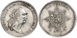 1 Thaler Grand Duchy of Hesse (1806 - 1918) Silver
