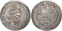 1 Thaler Habsburg Empire (1526-1804) Silver Ferdinand III, Holy Roman Emperor (1608-1657)