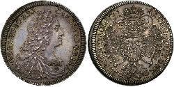 1 Thaler Habsburg Empire (1526-1804) Silver Charles VI, Holy Roman Emperor (1685-1740)
