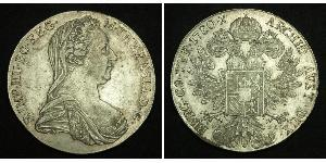 1 Thaler Habsburg Empire (1526-1804) Silver Maria Theresa of Austria (1717 - 1780)