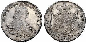 1 Thaler Habsburg Empire (1526-1804) Silver Sigismund von Schrattenbach