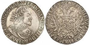 1 Thaler Holy Roman Empire (962-1806) Silver Ferdinand III, Holy Roman Emperor (1608-1657)
