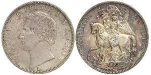 1 Thaler Kingdom of Saxony (1806 - 1918) Silver John of Saxony