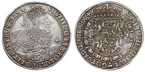 1 Thaler Polish-Lithuanian Commonwealth (1569-1795) Silver Sigismund III of Poland
