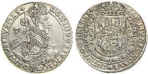 1 Thaler Polish-Lithuanian Commonwealth (1569-1795) Silver Sigismund III of Poland
