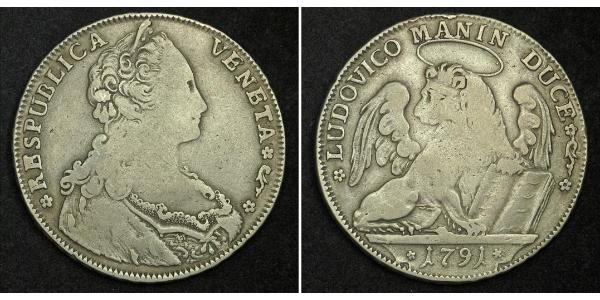 1 Thaler Republic of Venice (697—1797) / Italian city-states Silver