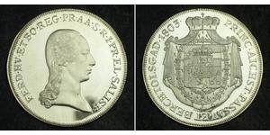 1 Thaler Salzburg Silver Ferdinand III, Holy Roman Emperor (1608-1657)