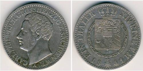 1 Thaler Saxe-Coburg and Gotha (1826-1920) Silver