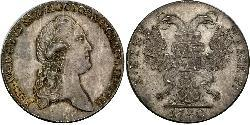 1 Thaler States of Germany Silver Frederick Augustus III of Saxony (1865-1932)