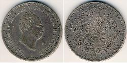 1 Thaler States of Germany Silver William IV (1765-1837)