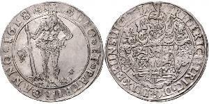 1 Thaler States of Germany Silver Frederick Ulrich, Duke of Brunswick-Wolfenbüttel (1591 - 1634)