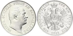 1 Thaler States of Germany Silver