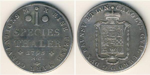 1 Thaler  Silver