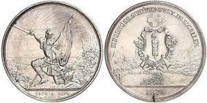 1 Thaler / 5 Franc Suisse Argent