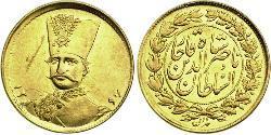 1 Toman Іран Золото