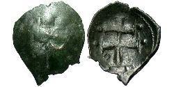 1 Trachy Byzantinisches Reich (330-1453) Billon Silber Johannes III Dukas (1192-1254)